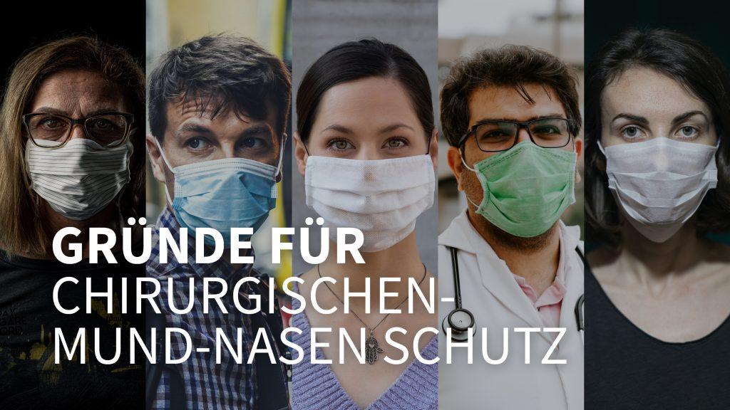 Gründe für Chirurgischen Mund-Nasen-Schutz