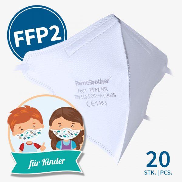Flamebrother FFP2-Masken Kinder