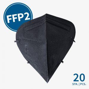 ML FFP2 Maske Schwarz