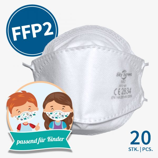Sky Screen FFP2-Masken Kinder